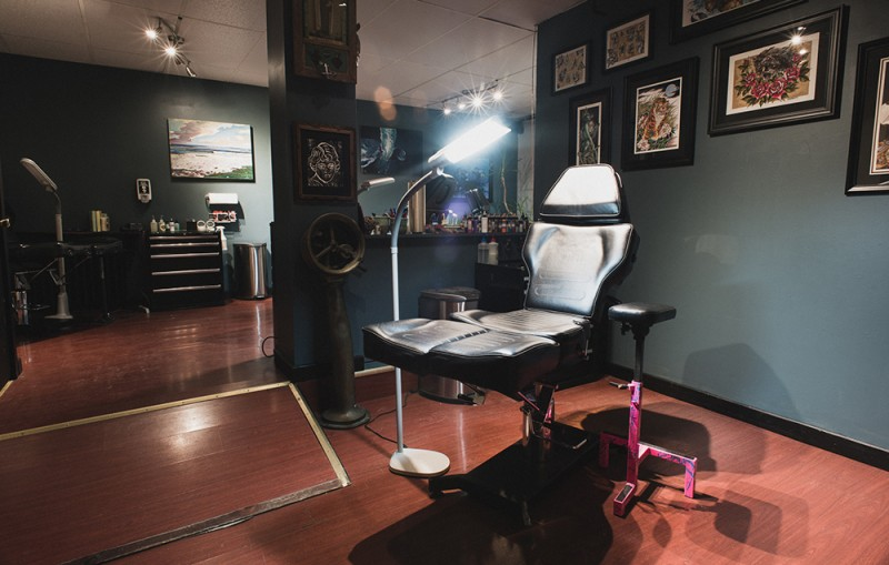 Custom Tattoo Shop Halifax Nova Scotia Oceanic Art